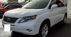 2009 lexus hybrid rx 450h rx450h 3.5 gyl16w version L for sale in japan used