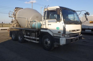 1996 nissan diesel ud big thumb cw 62 cw62ahn 17,000cc concrete mixer truck for sale in japan